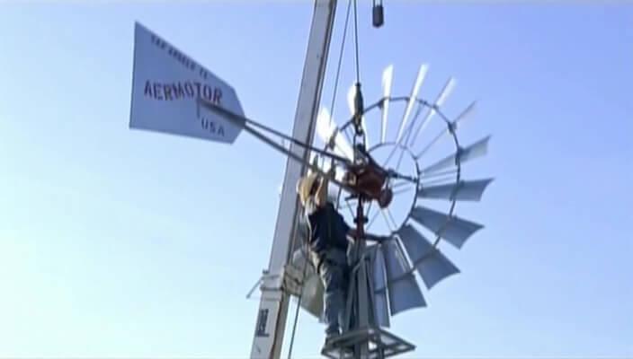 Водоподъёмные ветряные мельницы