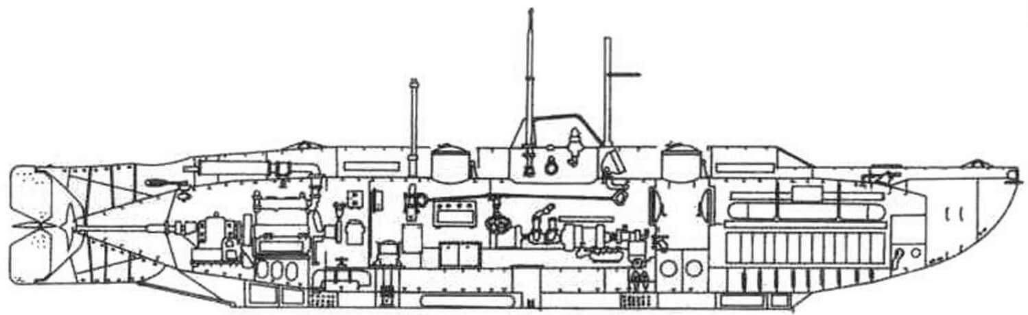 Сверхмалая подволная лодка «Х-5» (Англия, 1943 г.)