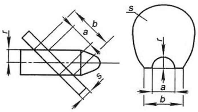 Построение шаблона лопасти винта