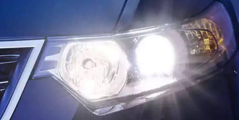 Использование ксенона во внешних осветительных приборах автомобиля
