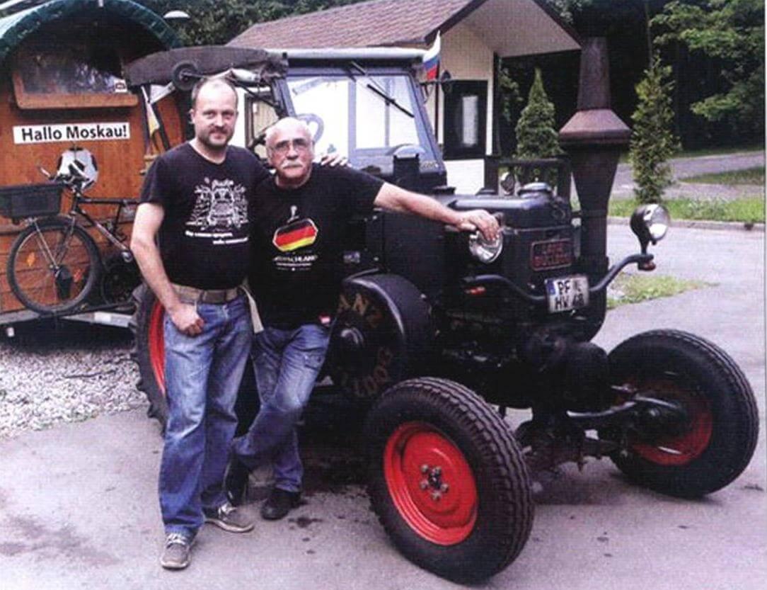 Путешествие на тракторе