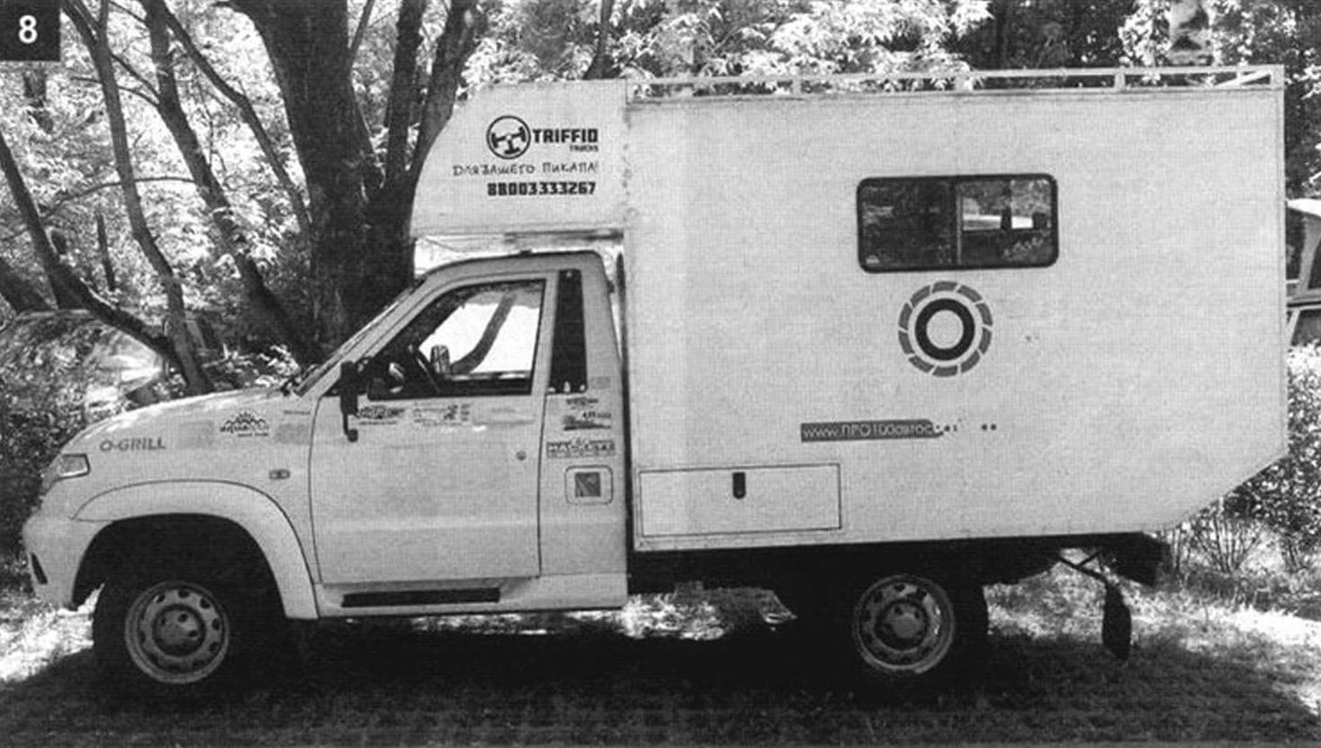 Самодельный кемпер: «УАЗ-Карго»