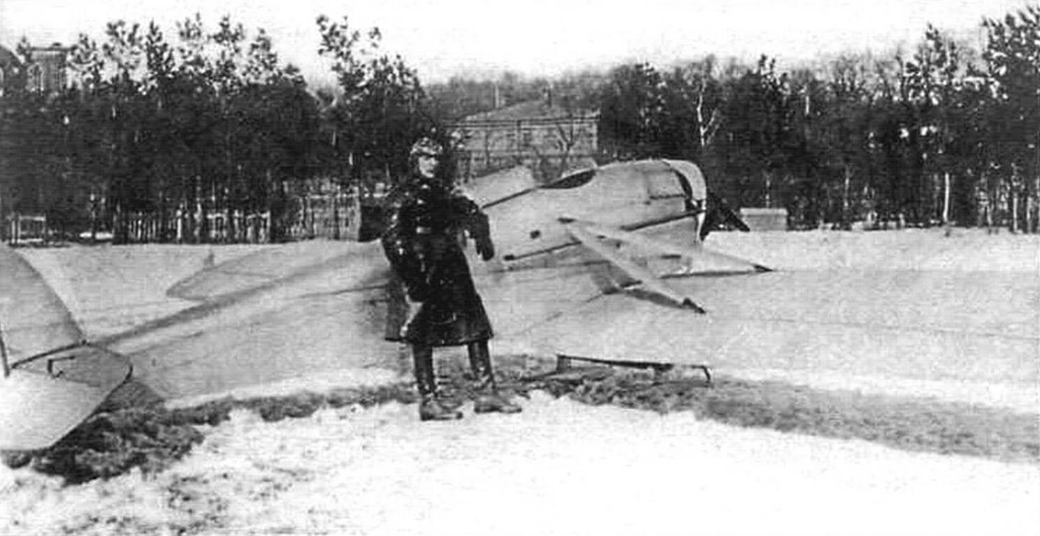 «Колибри» перед перелетом Москва - Серпухов - Москва, март 1927 г.