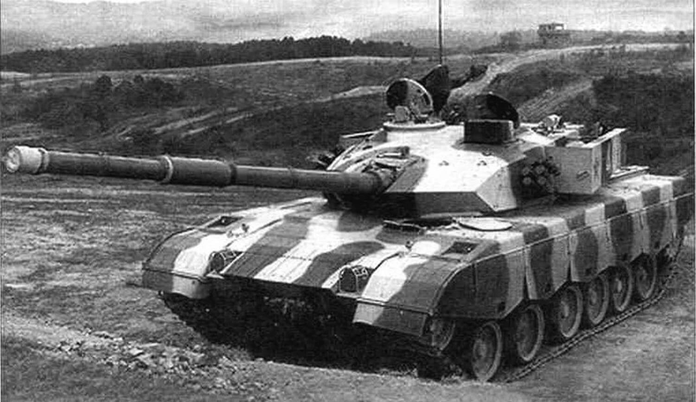 Тип 96G с усиленной бронезащитой башни