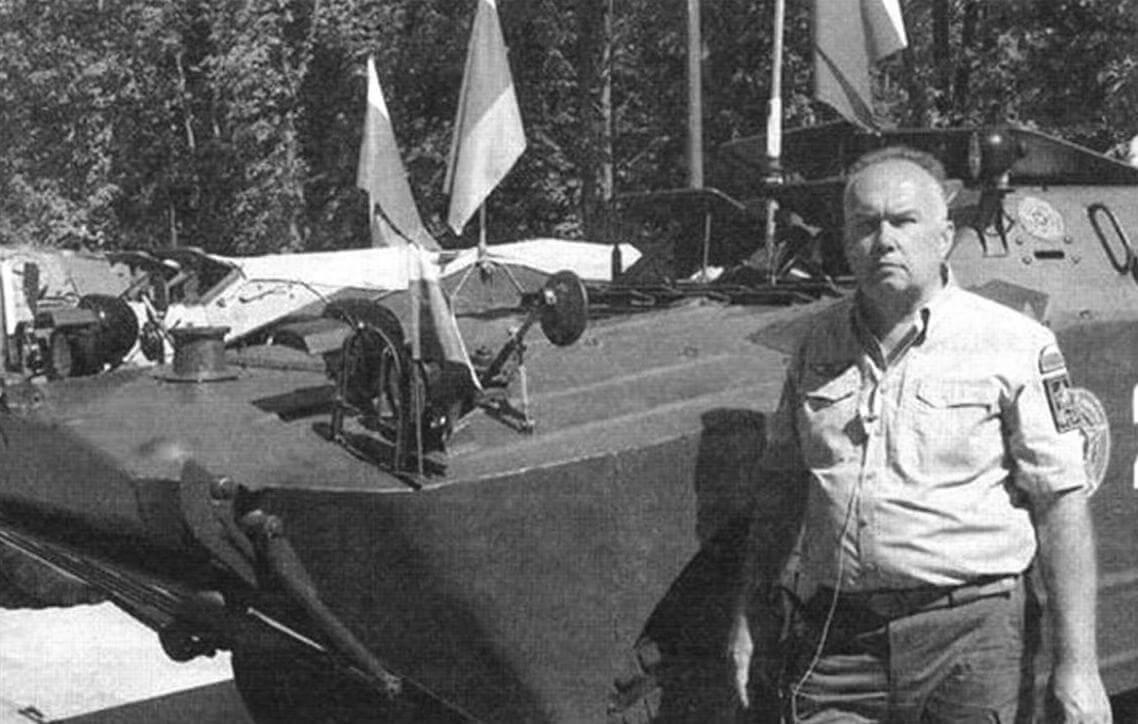 Алексей Мигалин, руководитель «Военно-технического общества» и организатор бронепробега