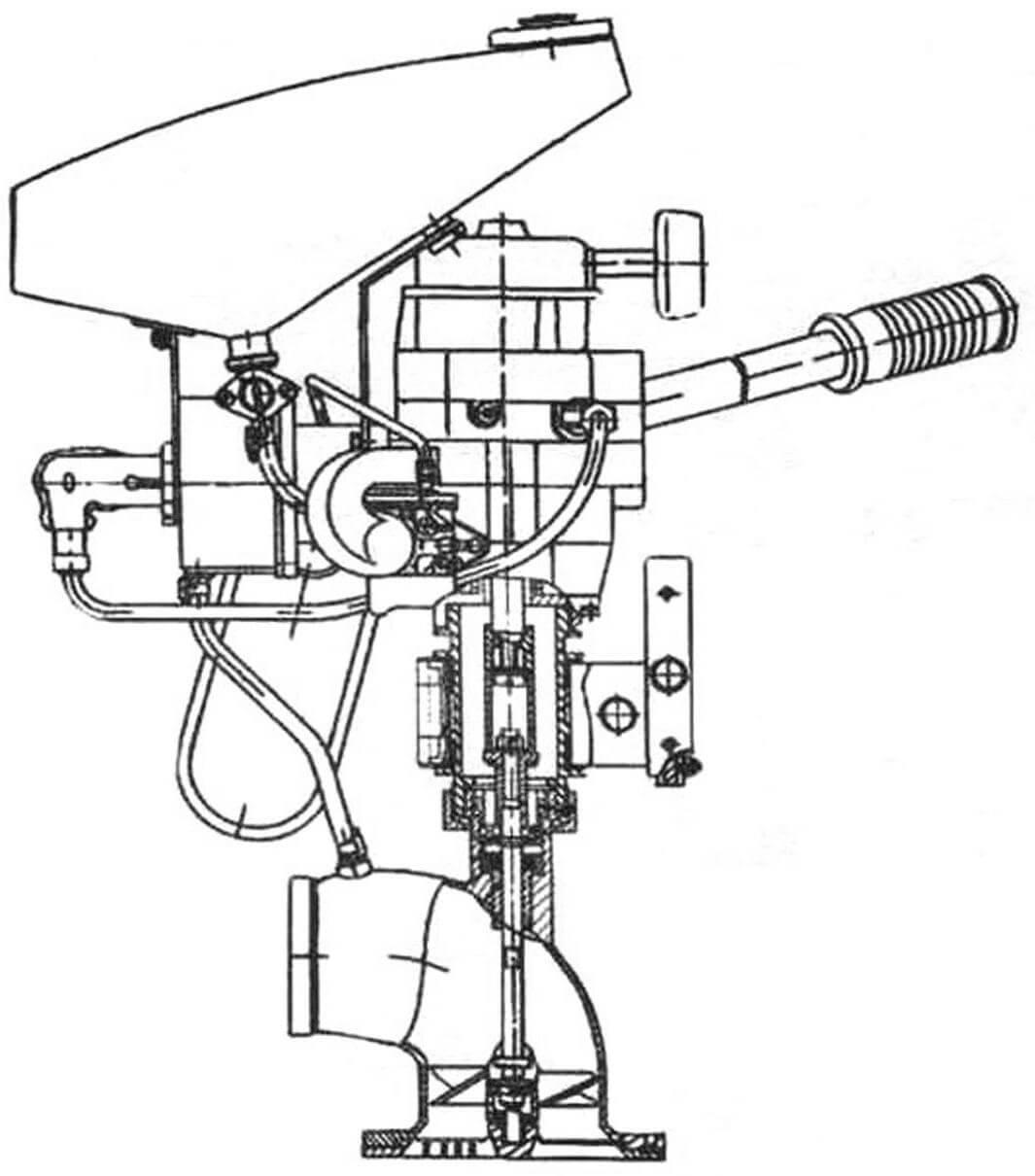 «Микроша» северодвинского производства с двигателем Д-10С, 2000 г.