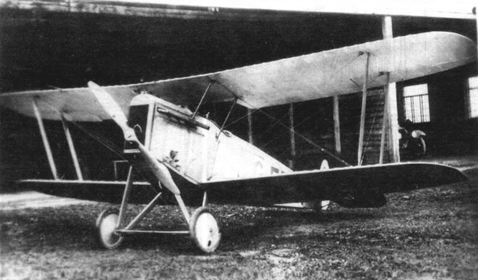 Авро 534, перелетевший в Советскую Россию