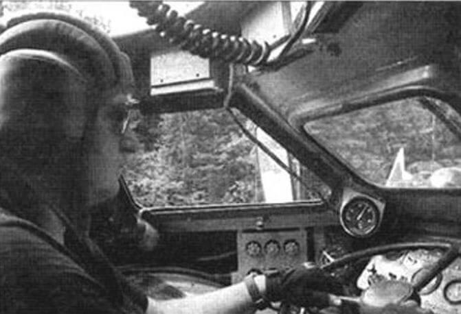 Сергей Жерновой накрутил за рулем БРДМ-2 не одну тысячу километров