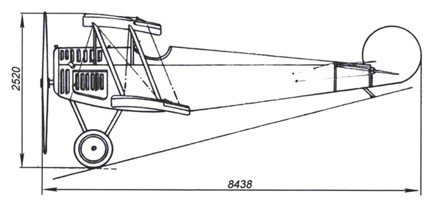 Чертеж Авро 534, закупленного Гвайтой