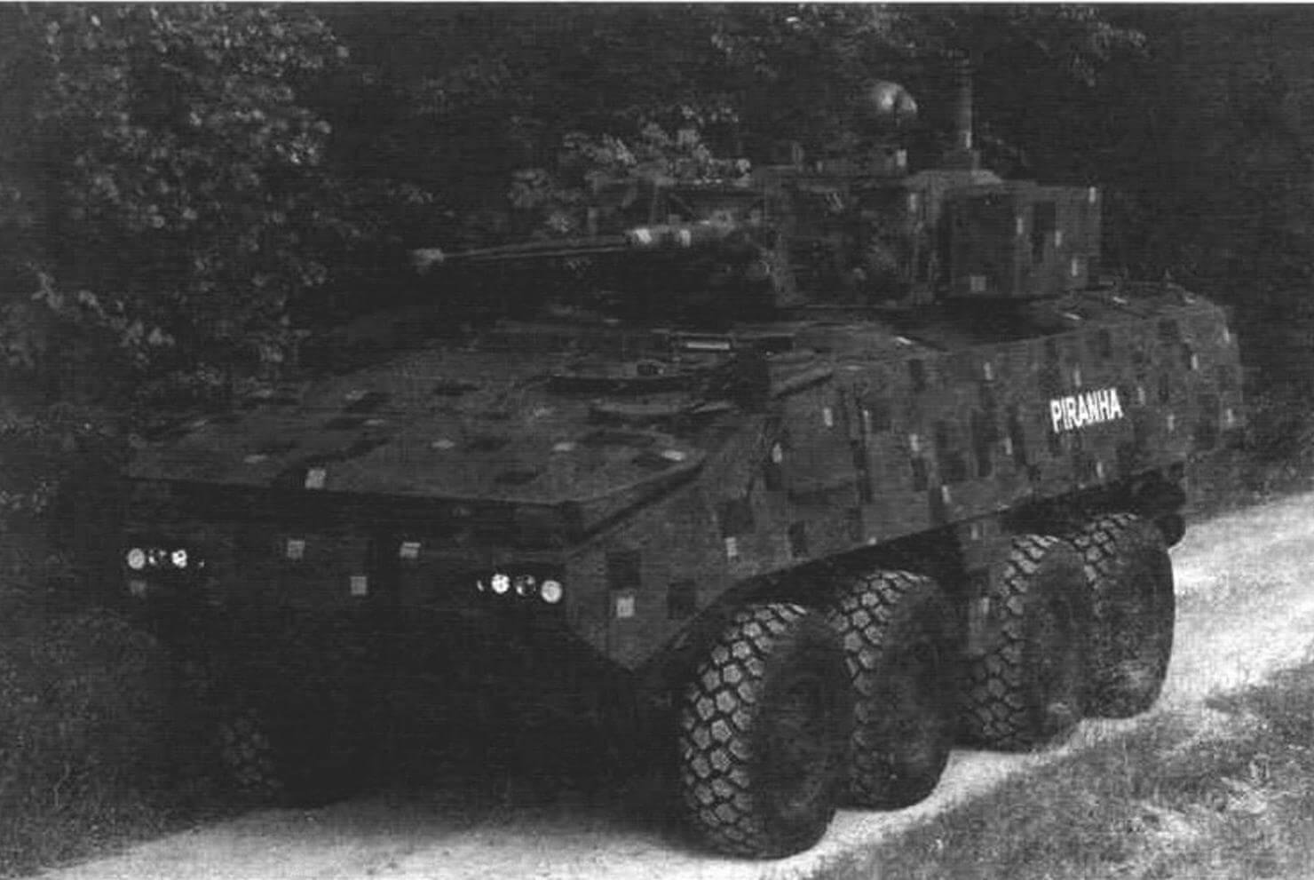 «Пиранья» IIIC вооруженных сил Швейцарии