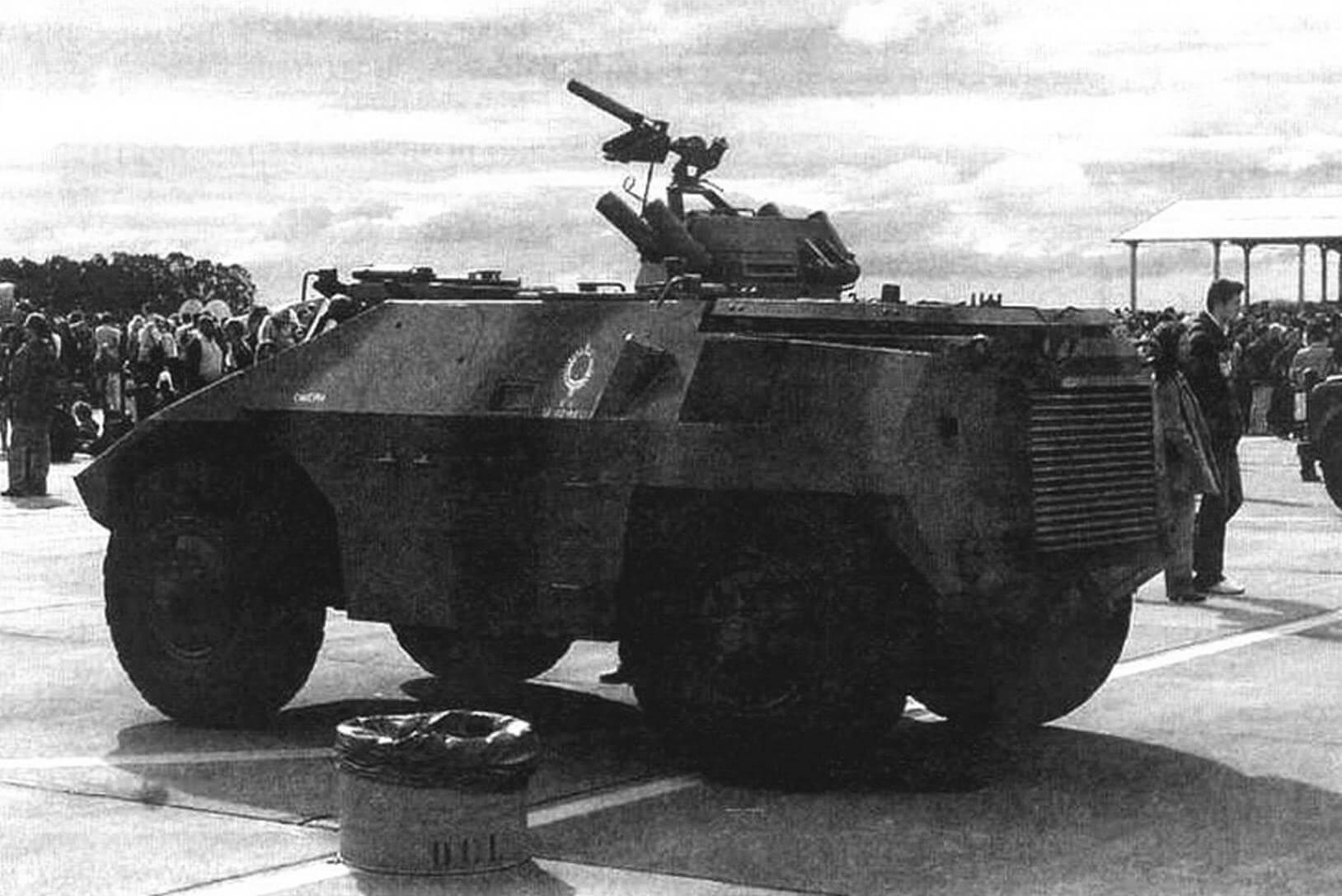 ЕЕ-3 «Жарарака» на выставке