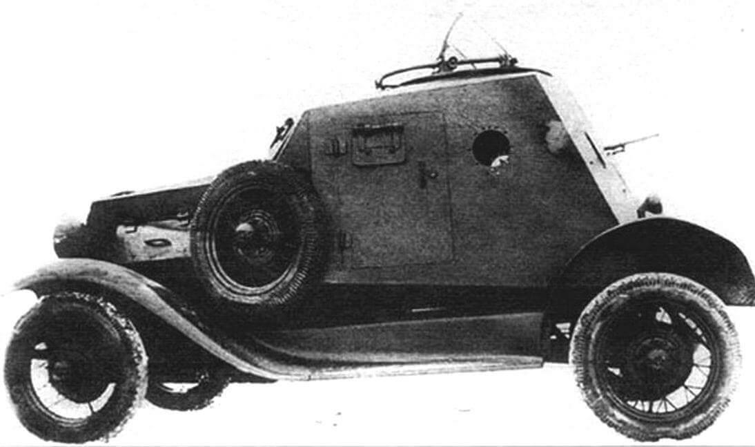 Бронеавтомобиль Д-12
