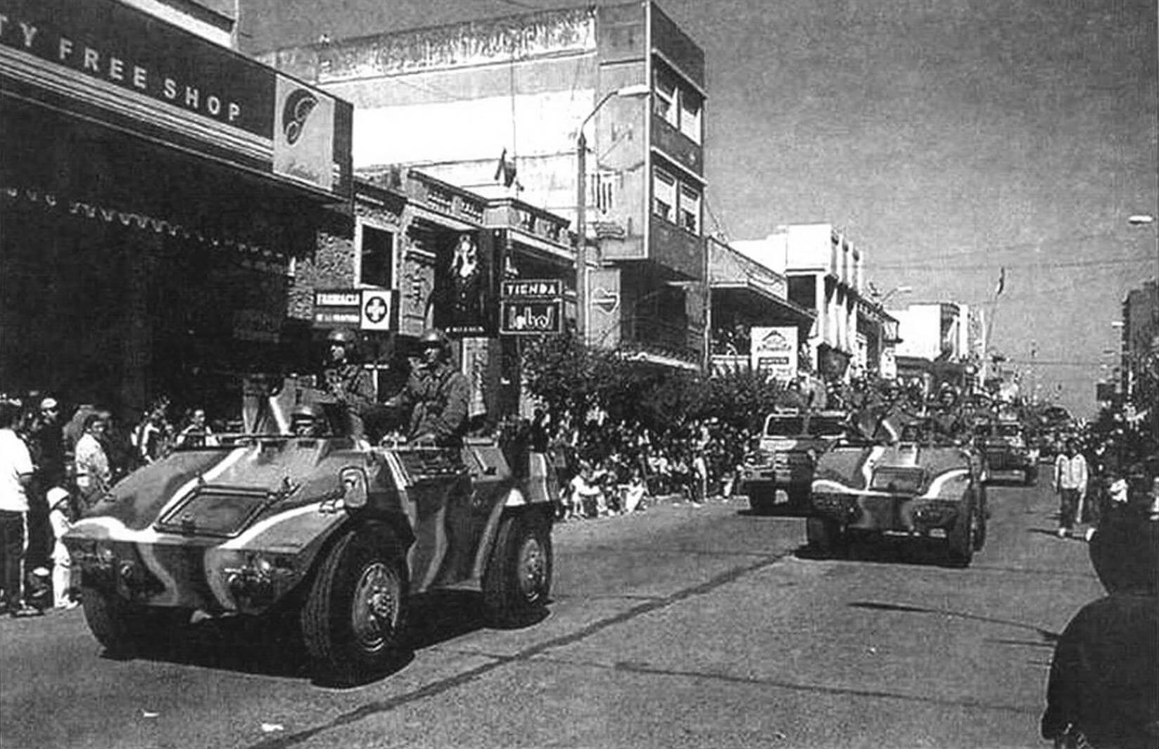 ЕЕ-9 «Каскавел» в патруле