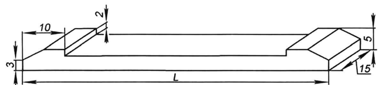 Плашка-основной элемент конструкции шаркунка. Длина детали L зависит от его сложности и ярусности. Для изготовлении игрушки, показанной на следующих страницах, нам потребуется 18 плашек длиной 41 мм и четыре плашки длиной 77 мм