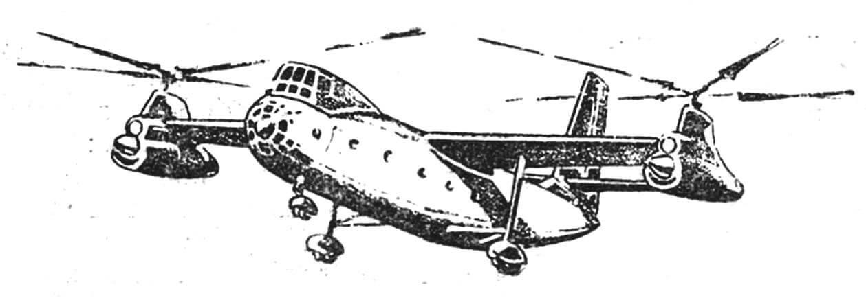 Вертолет КА-22