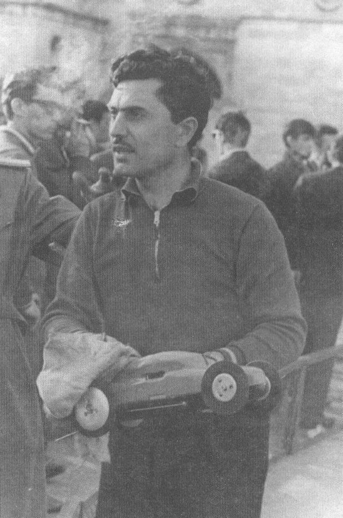 Альберт Колтаков, Баку, фото 1968 года