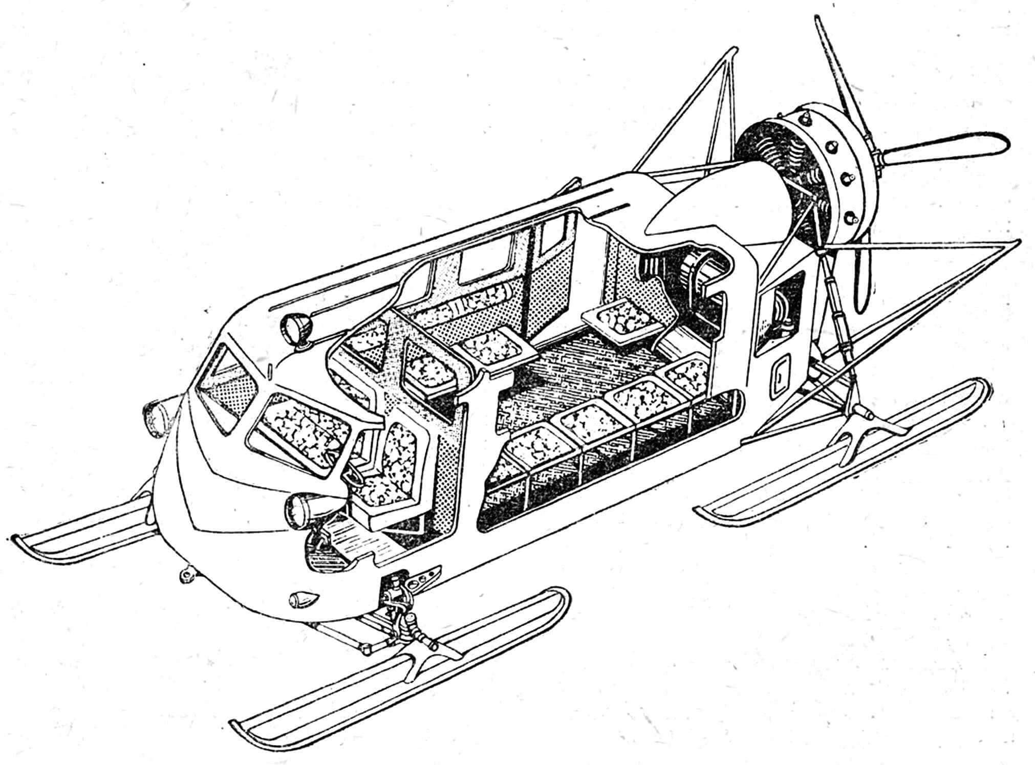 Аэросани КА-30