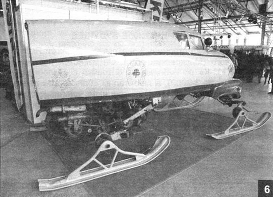 Вездеход ГМВ-2
