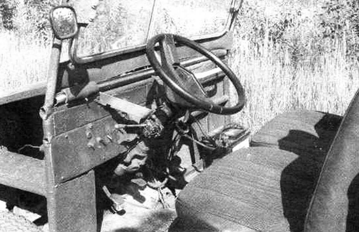 Рулевое управление с карданным валом