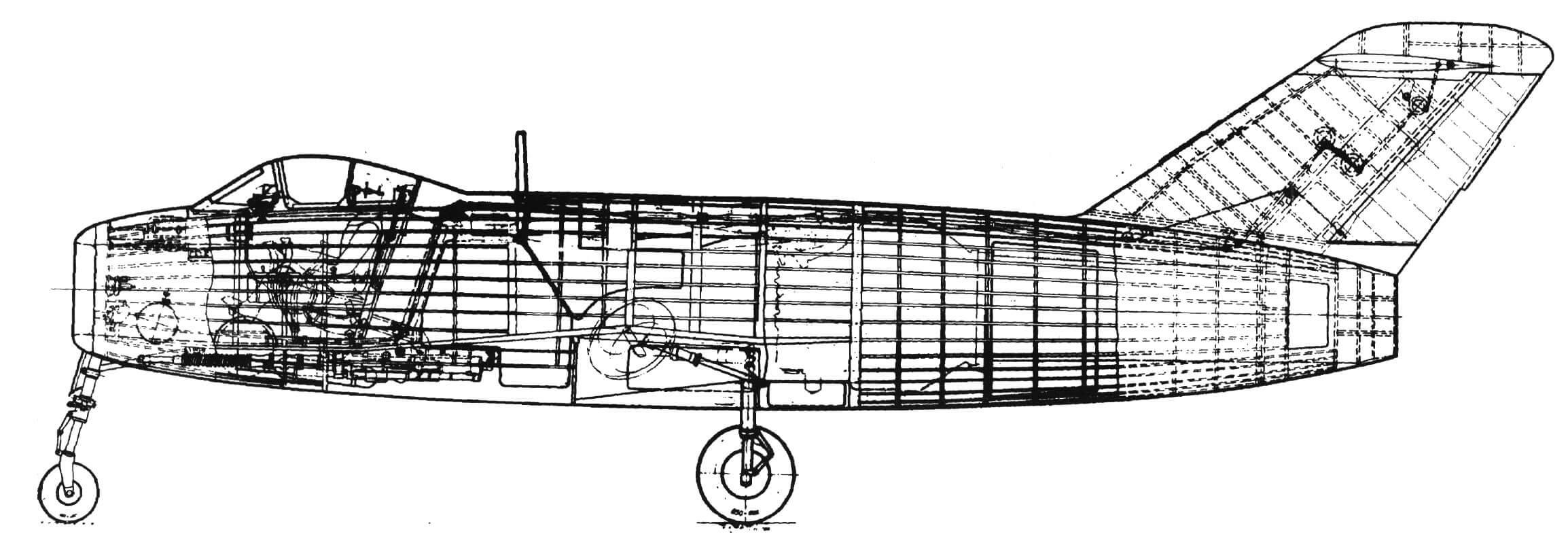 Компоновка самолета «174»