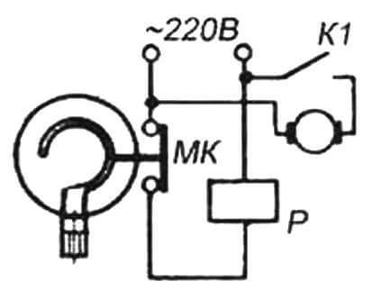 Принципиальная схема подключения электронасоса