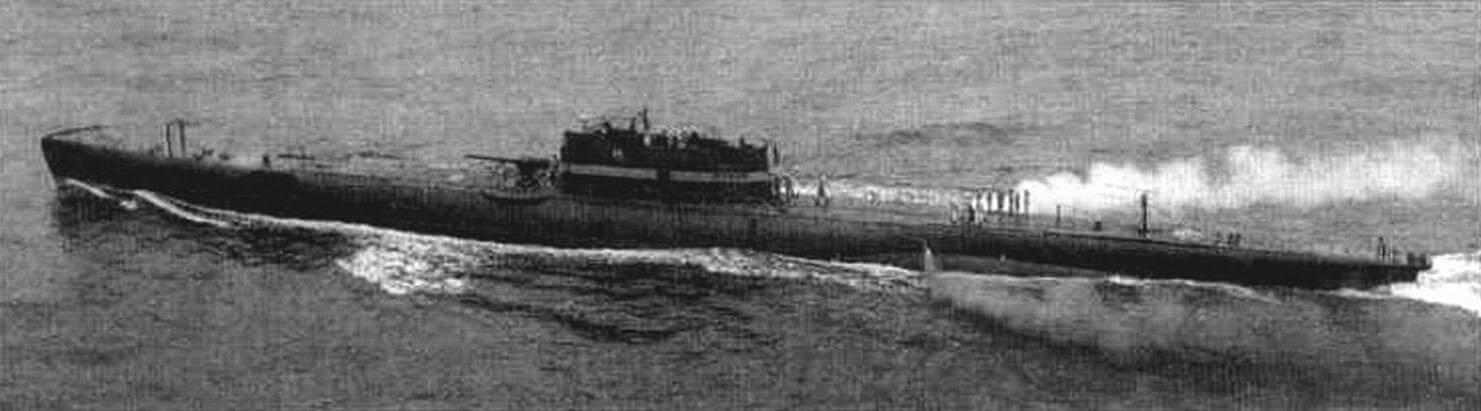 Подводная лодка «Хумаита» (Бразилия, 1929 г.). Строилась в Италии на верфи фирмы «ОТО» в Муджиано. Тип конструкции - полуторакорпусный. Водоизмещение подводное/надводное 1450/1885 тонн. Размеры: длина 86,70 м, ширина 7,77 м. осадка 4,26 м. Материал корпуса: сталь. Глубина погружения - до 90 м. Двигатель: два дизеля мощностью 4000 л.с. + два электромотора мощностью 900 л.с., скорость хода надводная/подводная - 18,5/9,5 уз. Вооружение: шесть 533-мм торпедных аппаратов (четыре в носу и два в корме. 12 торпед), одно 120-мм орудие, два 13,2-мм пулемета, 16 мин. Экипаж: 61 человек. Улучшенный тип «Валила». Исключена из списков в 1951 г.