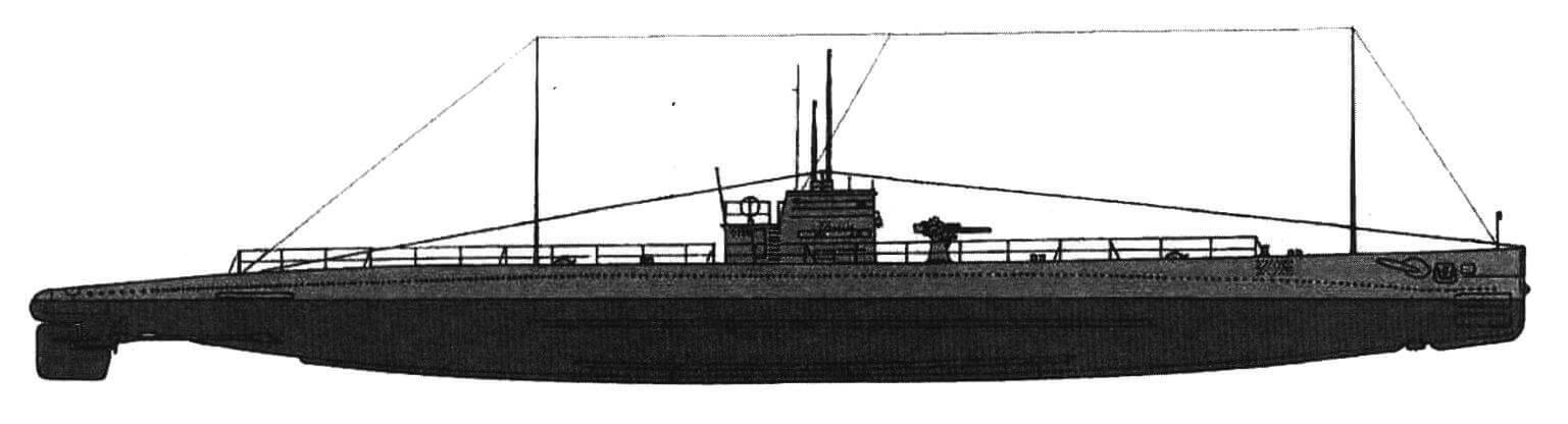 Подводная лодка «В-1» (Испания, 1917 г.) Строилась на верфи фирмы в Картахене. Тип конструкции - двухкорпусный. Водоизмещение надводное/подводное 565/715 т. Размеры: длина 64,18 м, ширина 5,60 м, осадка 3,44 м. Глубина погружения - до 60 м. Двигатель: два дизеля, мощность 1400 л.с. + два электромотора, мощность 420 л.с., скорость надводная/подводная 16/10,5 уз. Вооружение: четыре 450-мм торпедных аппарата в носу (10 торпед), одно 76-мм орудие. Экипаж: 33 чел. В 1922 - 1926 гг. построено шесть единиц, «В-1» - «В-6». «В-5» и «В-6» потоплены в 1936 г., «В-3» - в июне 1940 г., «В-1» и «В-4» затоплены командами и исключены из списков в 1941 г. «В-2» находилась в составе испанского флота до 1951 г., когда была исключена и сдана на слом