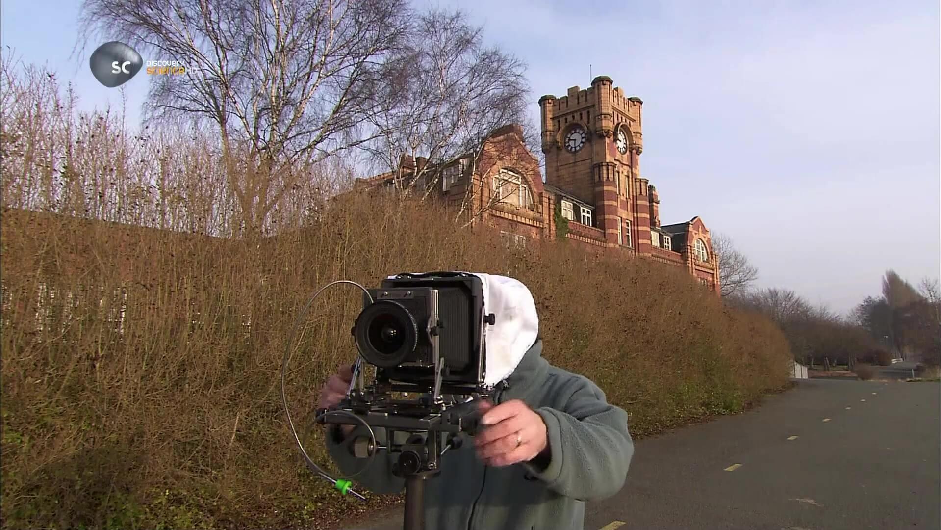 Крупноформатные фотокамеры