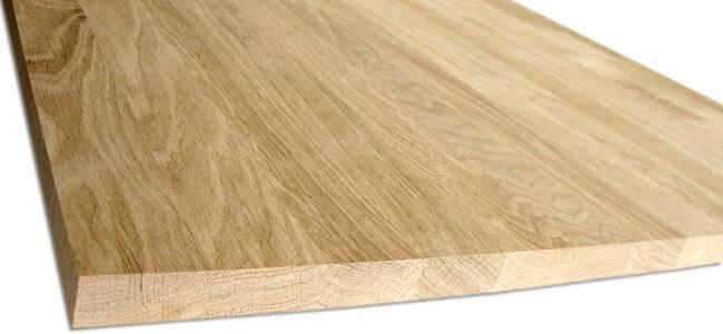 Мебельный щит из дуба – сочетание прочности и функциональности