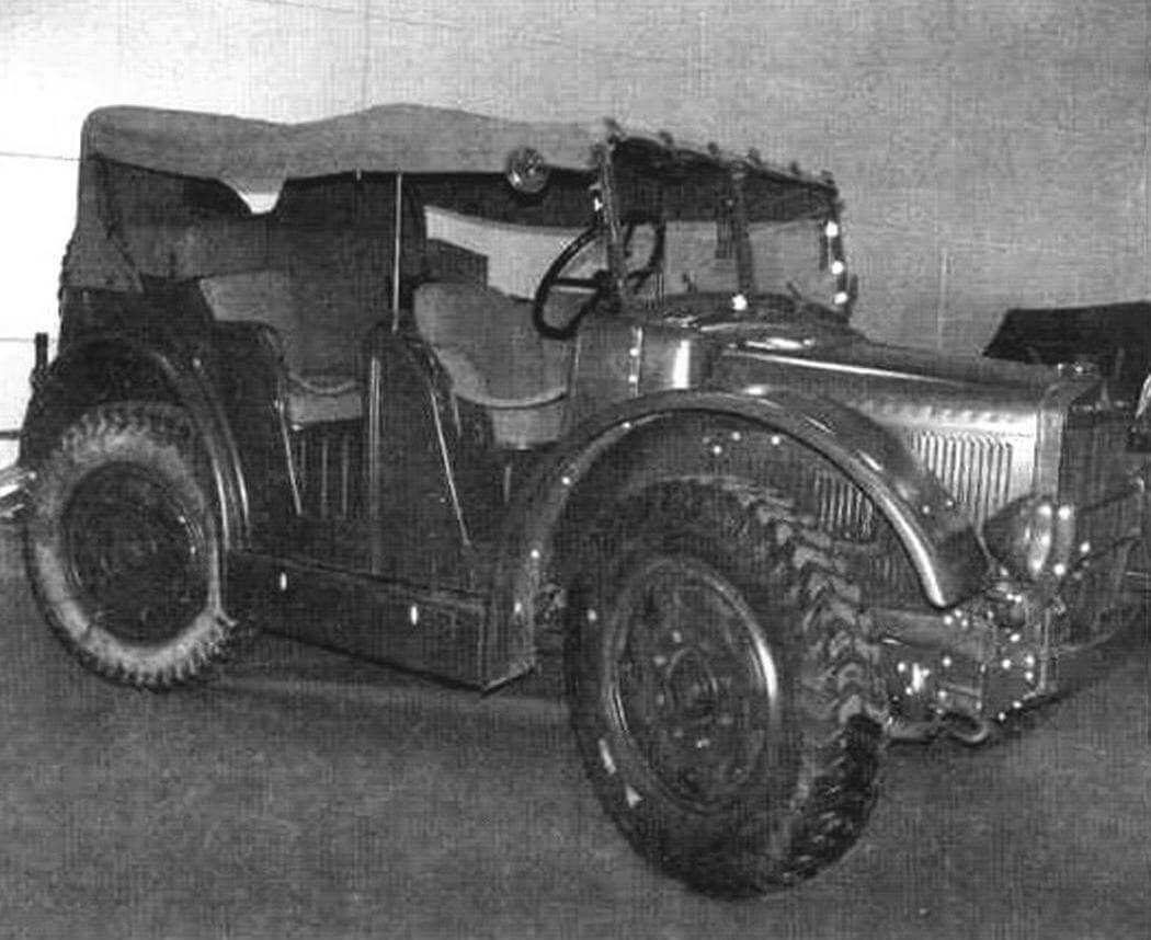 Автомобиль «Штайер-1500А»