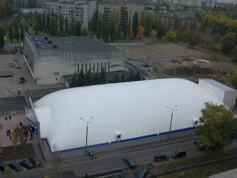 Строительство ледовых катков в Украине