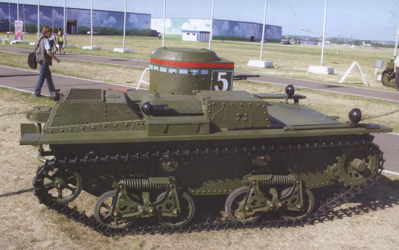 ПЛАВАЮЩИЙ ТАНК Т-38