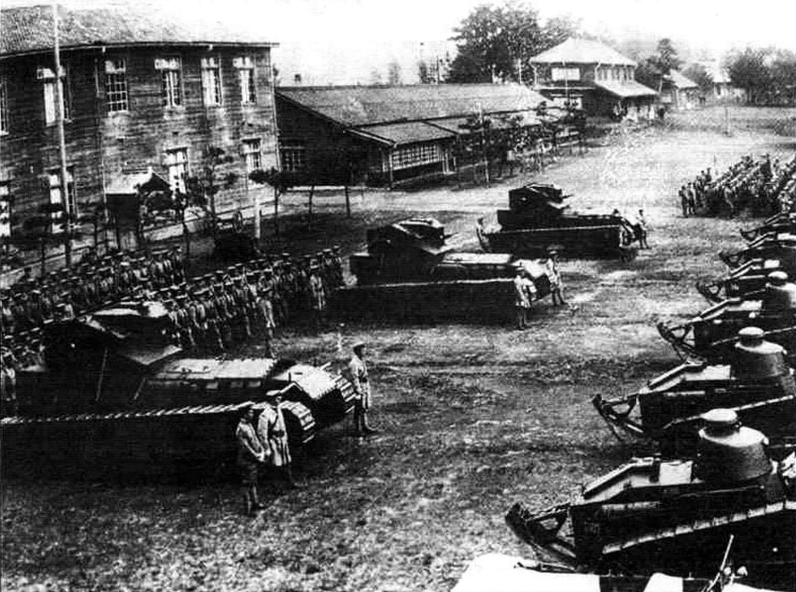 Мk. A Whippet японской армии