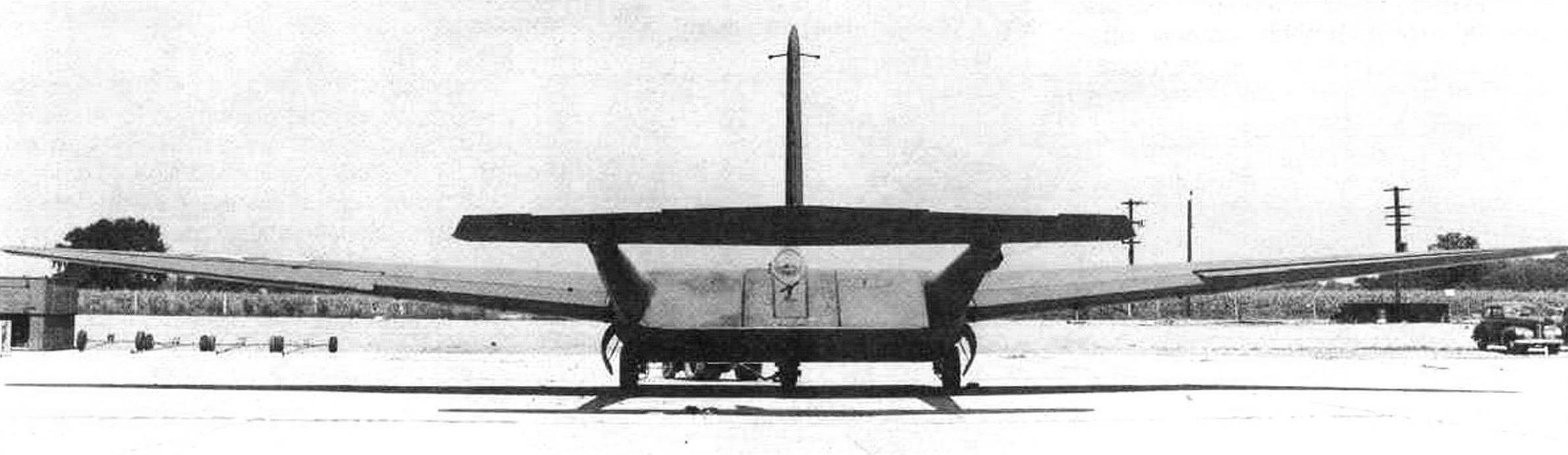 XCG-16, вид сзади