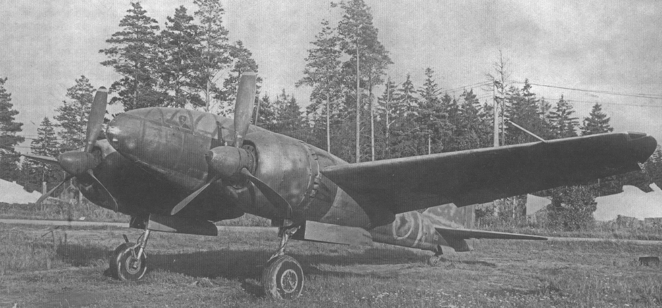 Ки-46-III на аэродроме НИИ ВВС