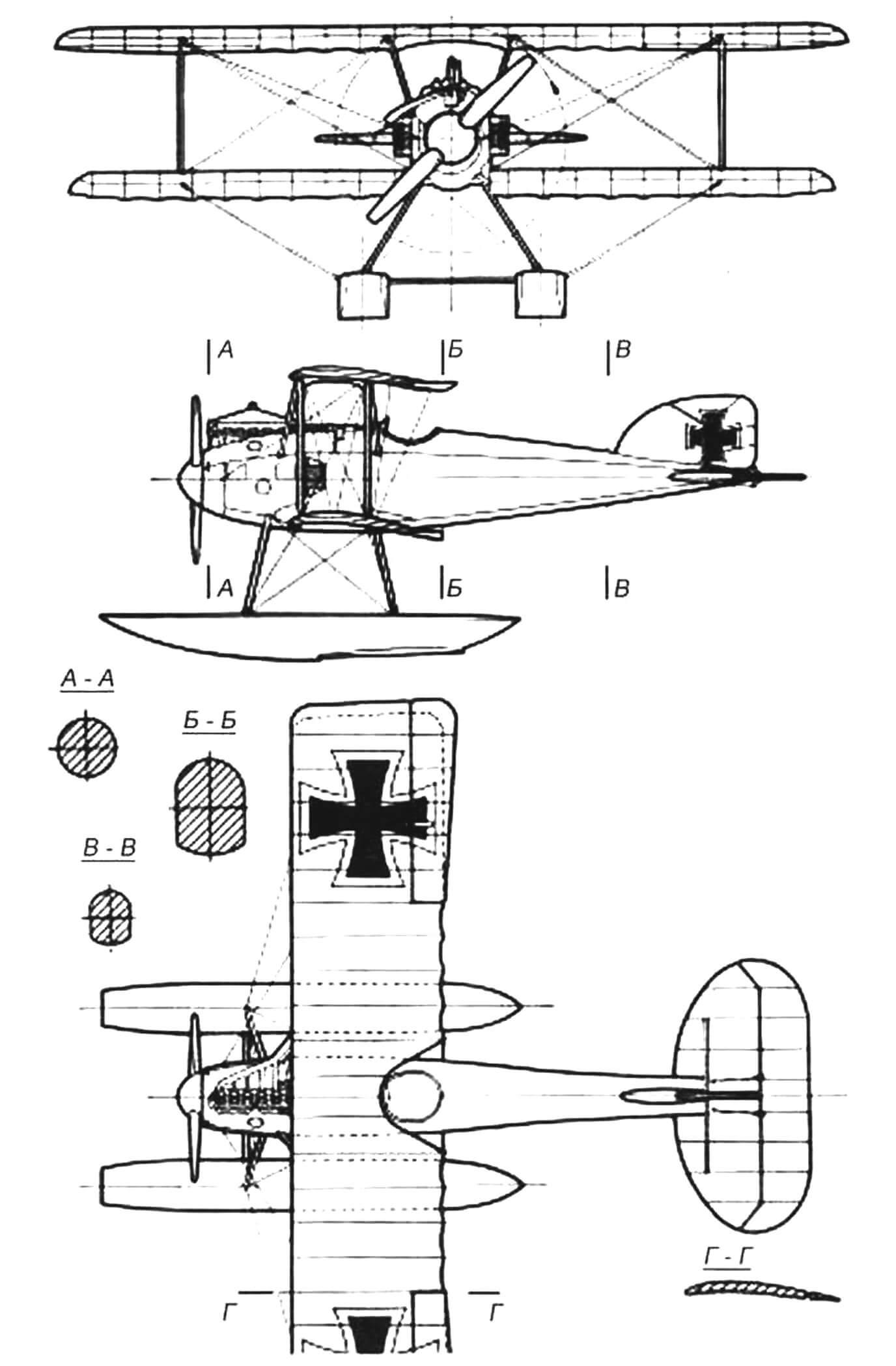 «Альбатрос» W.4