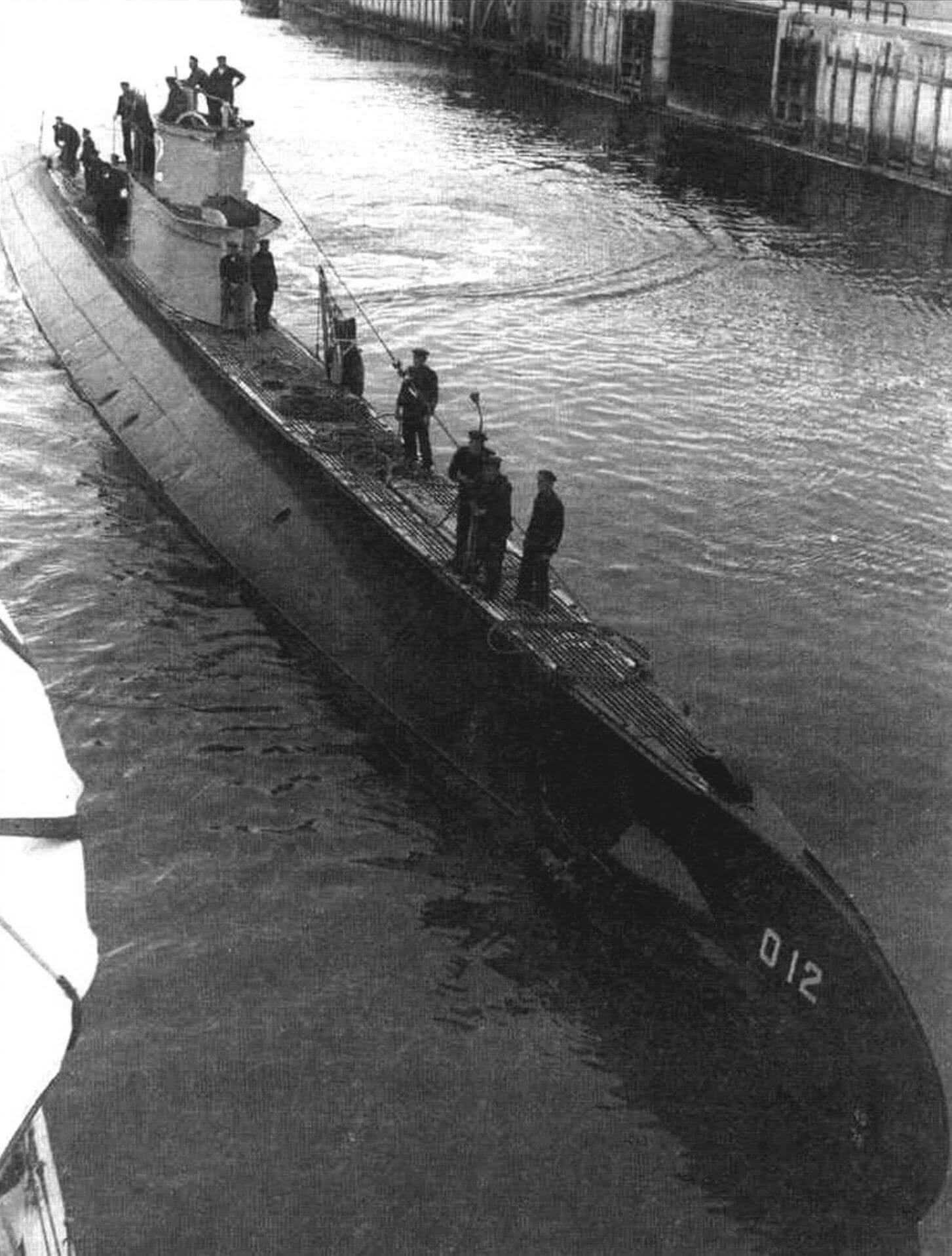 Подводная лодка «О-12»