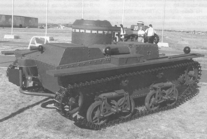 Танк Т-38 ныне музейный экспонат
