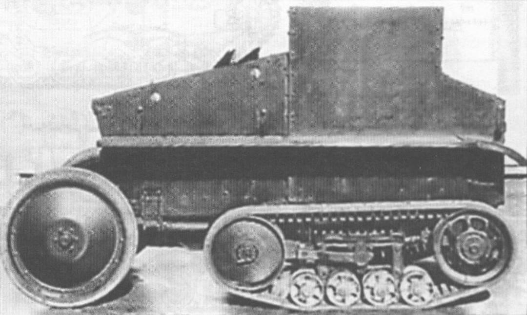 Вверху и внизу: танкетки «Кроссли-Мартель», послужившие прототипом плавающего танка «Сумида АМП»