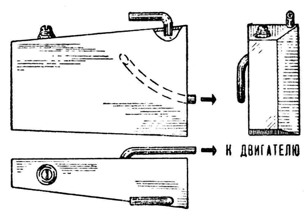 Рис. 5. Бак, работающий на трех режимах.