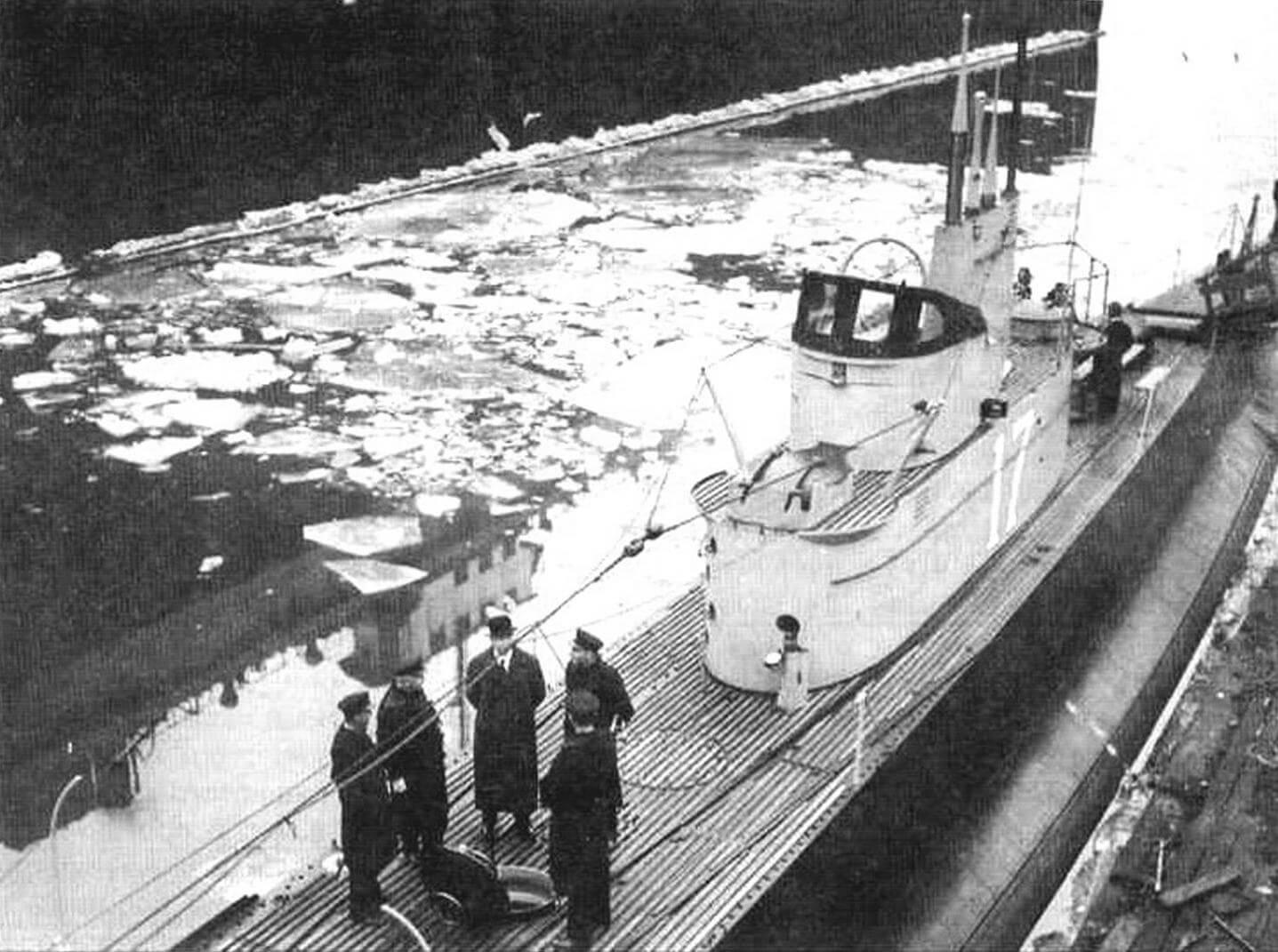 Подводная лодка «К-XVII»