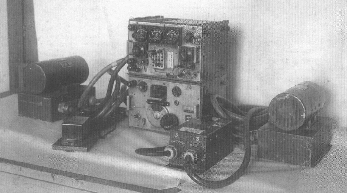 Радиостанция самолета Ки-46-III