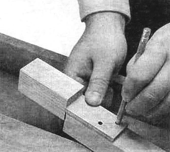 Процесс разметки с помощью шаблона