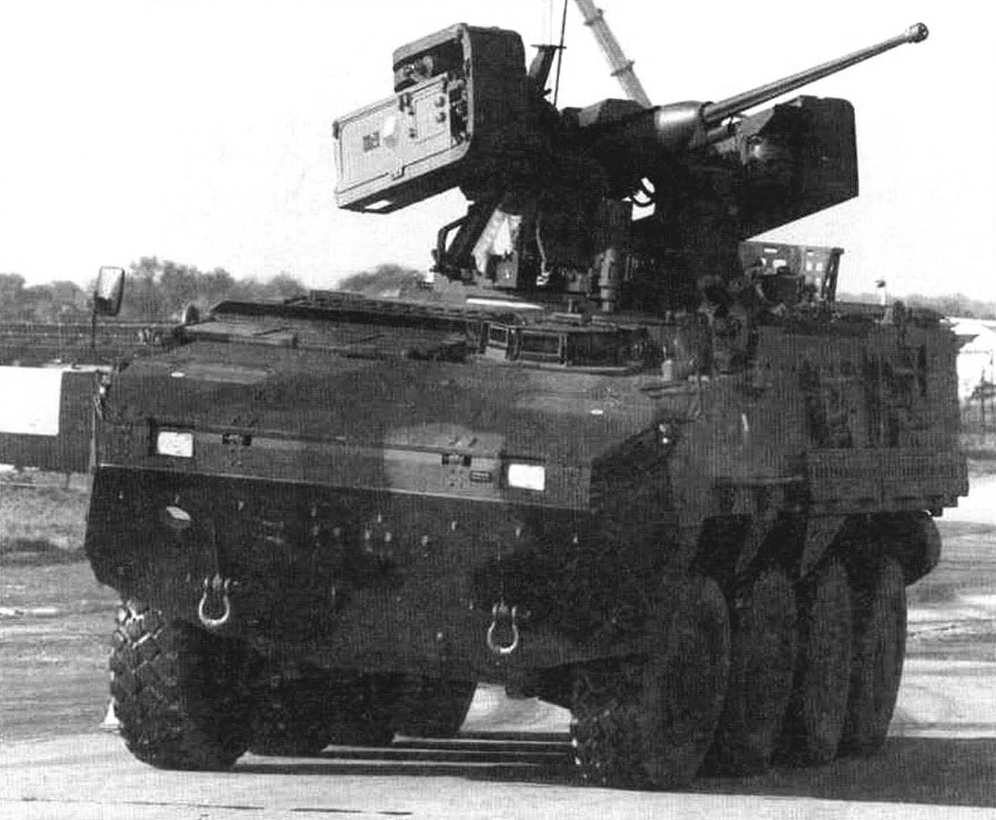 «Пандур» II с дистанционно управляемым модулем Samson-RCWS-30