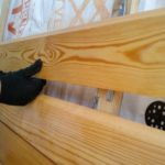 Наружная облицовка деревом: планкен из сибирской лиственницы