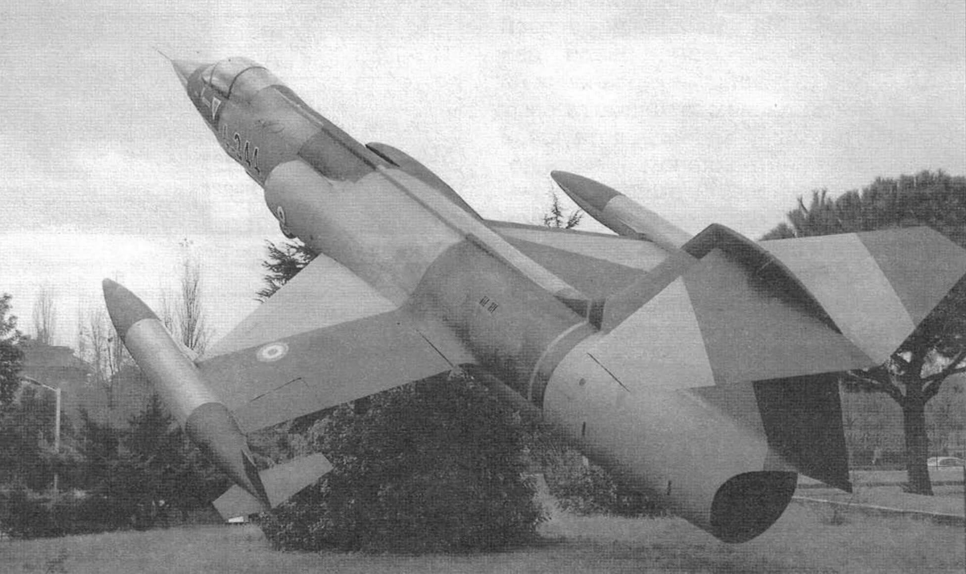 Истребитель Локхид F-104G «Старфайтер»