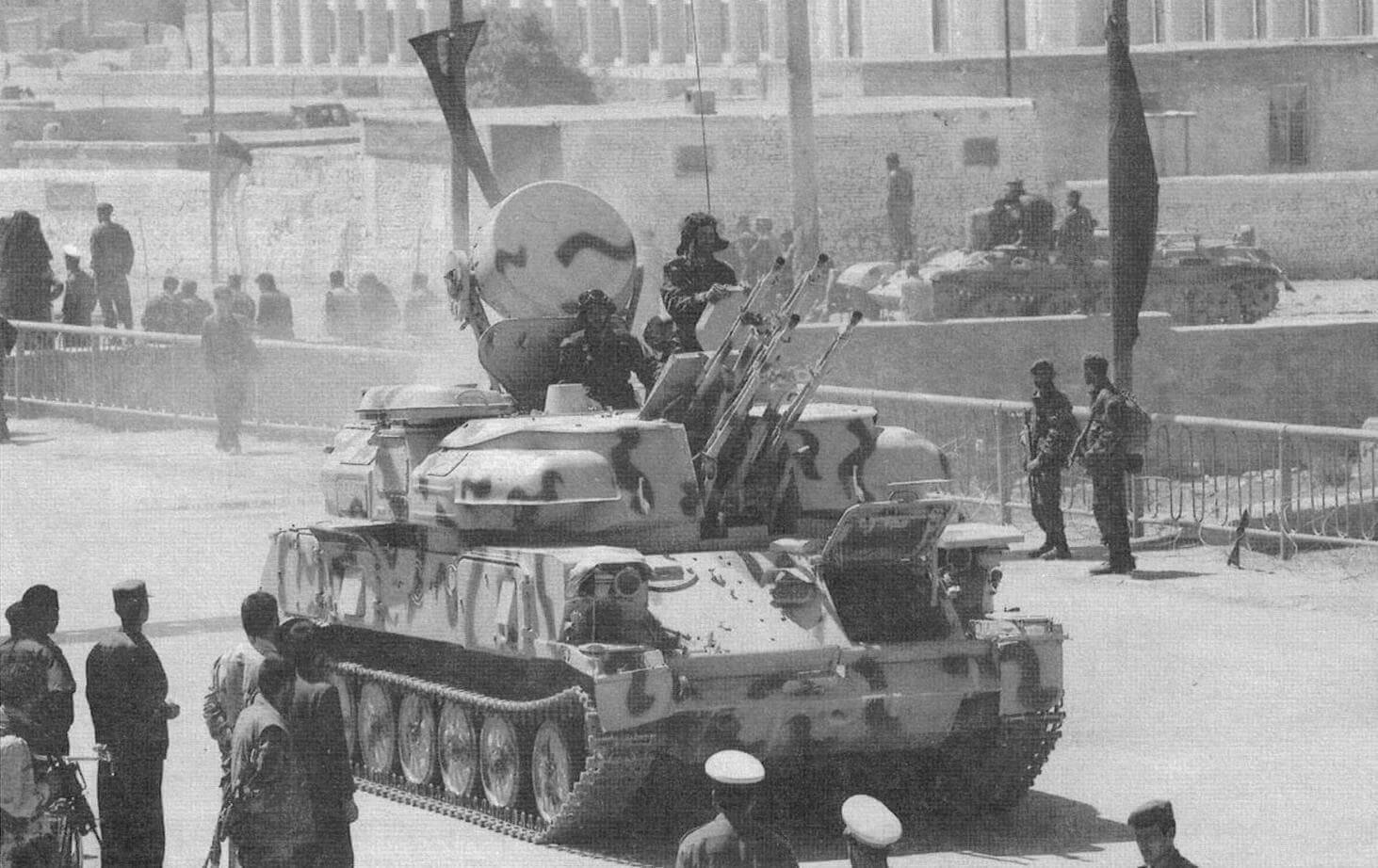 ЗСУ-23-4М армии Афганистана, 2004 год