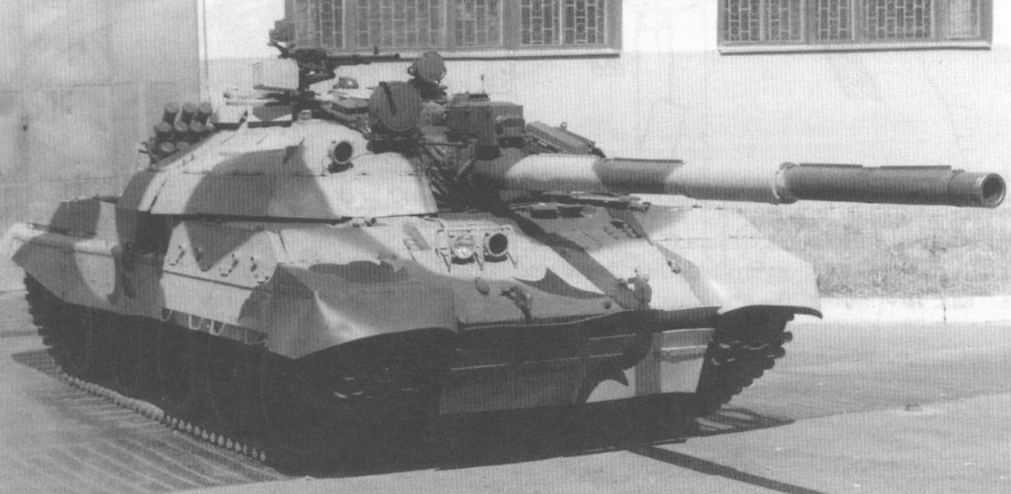 Один из вариантов модернизации Т-62 украинскими танкостроителями