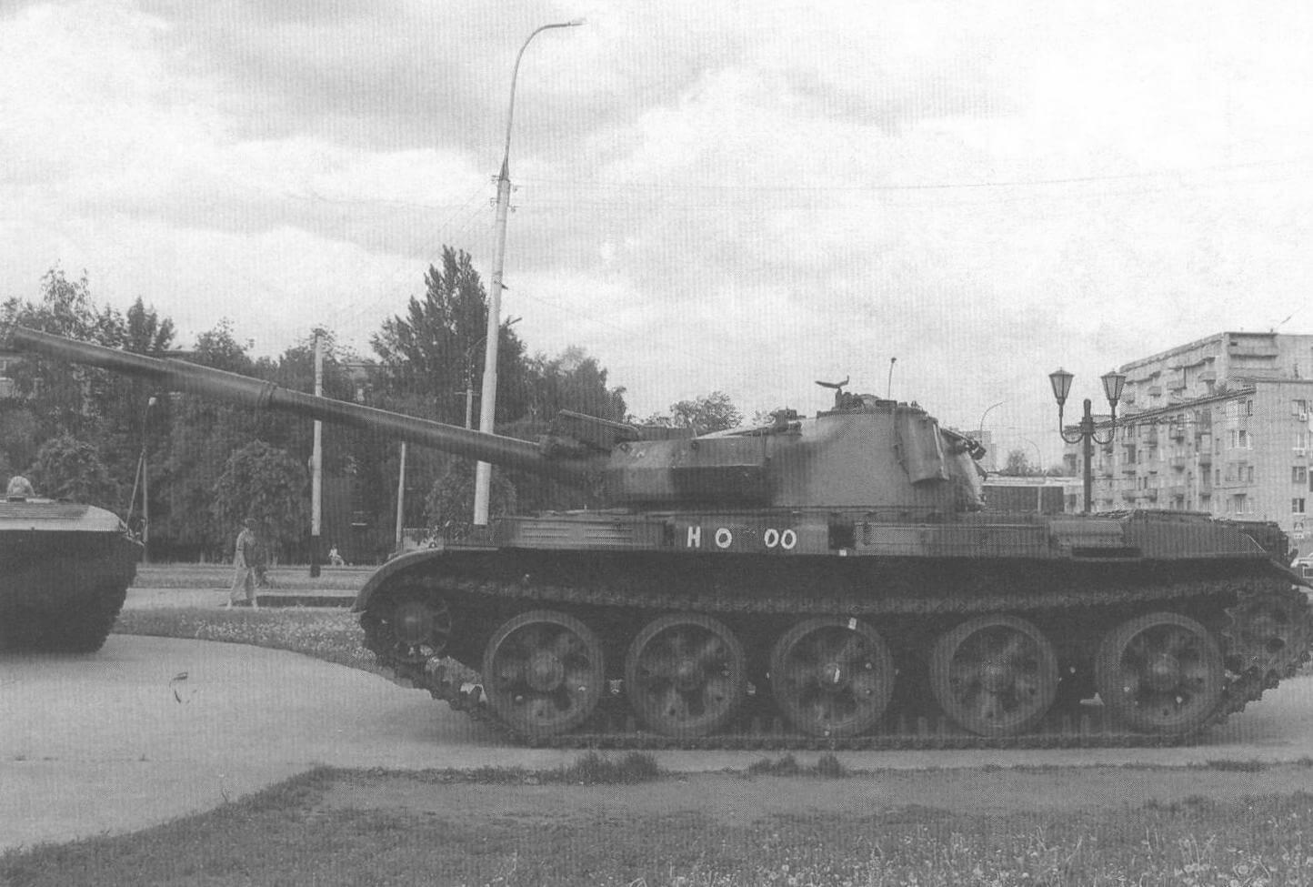 Т-62М в Парке Победы г. Тамбова
