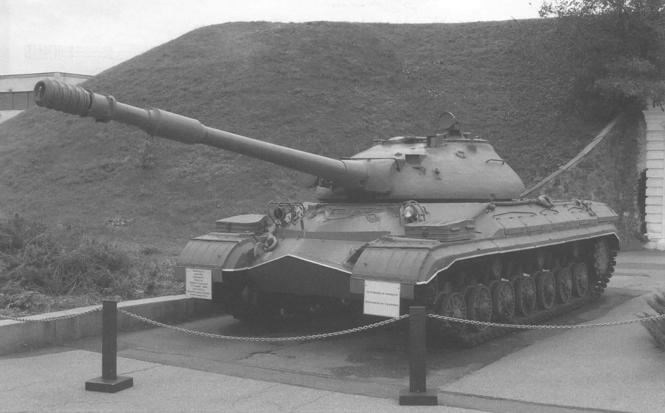 Танк Т-10М в экспозиции музея Великой Отечественной войны г. Киева